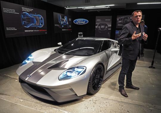 Ford Stole The Show At Detroit Back In January Unveiling An Audaciously Styled Ford Gt That Stole The Show While The Company Is Keeping A Tight Lid On
