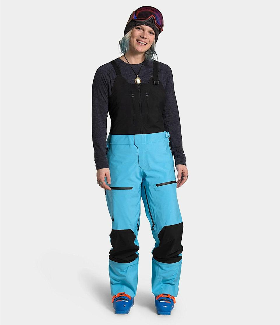 <p>These <span>The North Face A-CAD Futurelight Bibs</span> ($549) are loose and cool. We love the bright blue shade.</p>