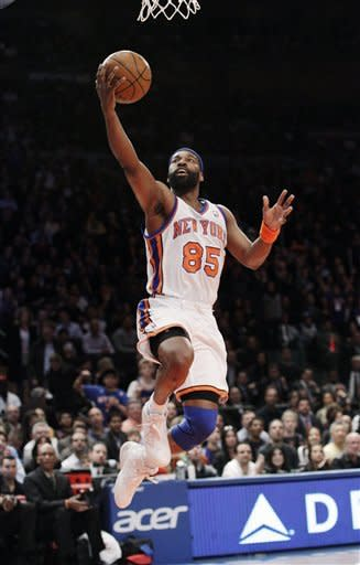 Baron Davis last played in the NBA for the Knicks in the 2011-12 season. (AP)