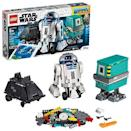 """<p><strong>LEGO</strong></p><p>amazon.com</p><p><strong>$176.32</strong></p><p><a href=""""https://www.amazon.com/dp/B07QNZG3V2?tag=syn-yahoo-20&ascsubtag=%5Bartid%7C10055.g.29537582%5Bsrc%7Cyahoo-us"""" rel=""""nofollow noopener"""" target=""""_blank"""" data-ylk=""""slk:Shop Now"""" class=""""link rapid-noclick-resp"""">Shop Now</a></p><p>Combine LEGO building, coding, and Star Wars in one: Kids can <strong>build their favorite Star Wars droids, then use an app</strong> to customize them and send them on digital missions. <em>Ages 8+</em></p>"""