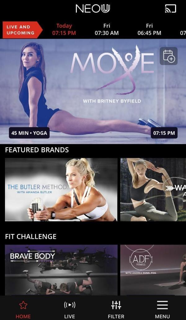 "This ""Netflix of fitness"" hooks you up with around 2,000 different on-demand and livestream workouts from some of the most famous instructors and elite athletes on the planet."
