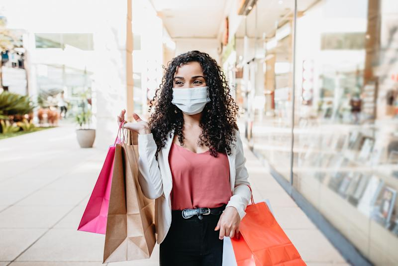 UK retail sales climb back to pre-pandemic levels. Photo: Getty.