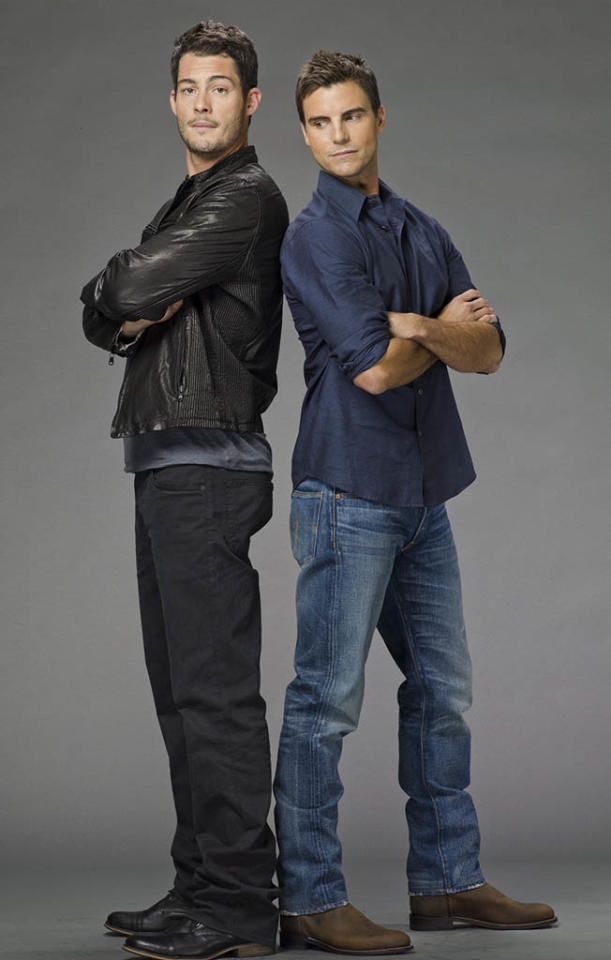 """Brian Hallisay and Colin Egglesfield in """"The Client List"""" Season 2."""