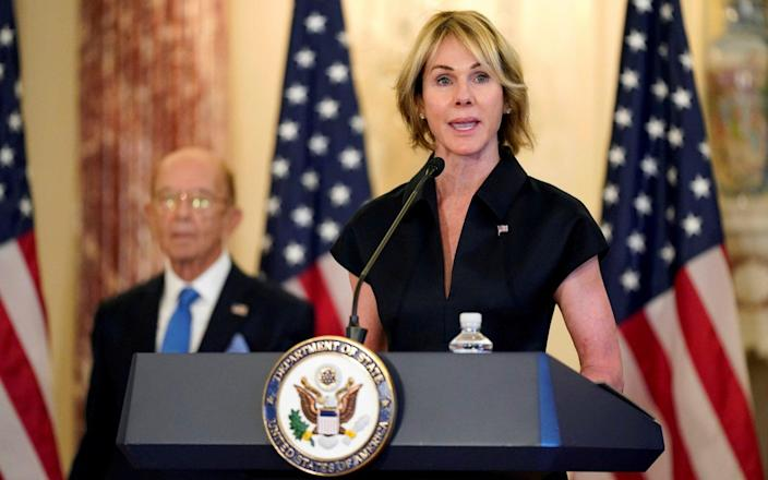 UN ambassador Kelly Craft was due to arrive in Taiwan on January 13 - Reuters