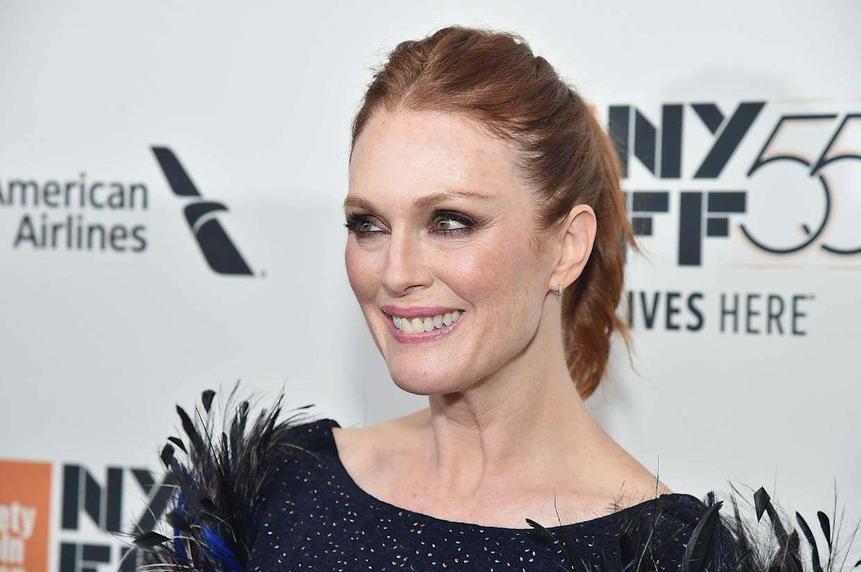 "Moore, who starred in the Weinstein-backed film ""A Single Man,"" <a href=""https://twitter.com/_juliannemoore/status/917400026120323072"" rel=""nofollow noopener"" target=""_blank"" data-ylk=""slk:tweeted that"" class=""link rapid-noclick-resp"">tweeted that</a> ""coming forward about sexual abuse and coercion is scary and women have nothing to be gained personally by doing so.&nbsp; But through their bravery we move forward as a culture, and I thank them. Stand with <a href=""https://twitter.com/AshleyJudd"" rel=""nofollow noopener"" target=""_blank"" data-ylk=""slk:@AshleyJudd"" class=""link rapid-noclick-resp"">@<strong>AshleyJudd</strong></a> <a href=""https://twitter.com/rosemcgowan"" rel=""nofollow noopener"" target=""_blank"" data-ylk=""slk:@rosemcgowan"" class=""link rapid-noclick-resp"">@<strong>rosemcgowan</strong></a> and others."""