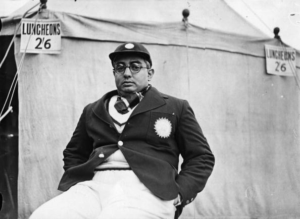 30th April 1936:  Vizianagram (1905 - 1965), member of the All-India cricket team.  (Photo by Hudson/Topical Press Agency/Getty Images)