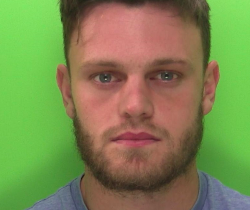 Reece Thompson was convicted of assault and grievous bodily harm in 2019. (Reach)