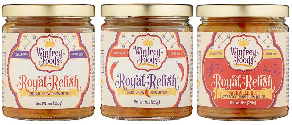 Winfrey Foods Royal Relish Original Chow Chow Relish (3 pack) (Photo: Amazon)