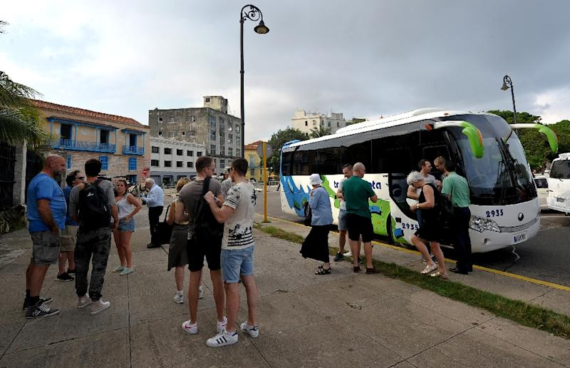Trade delegations have been flocking to Cuba lately, interested in how to engage its sun-drenched Caribbean beaches, a huge draw for tourists (AFP Photo/Yamil Lage)