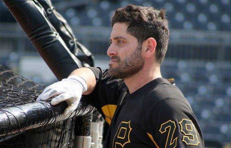 Pirates catcher Francisco Cervelli's mind is consumed by the implosion in Venezuela. (AP)