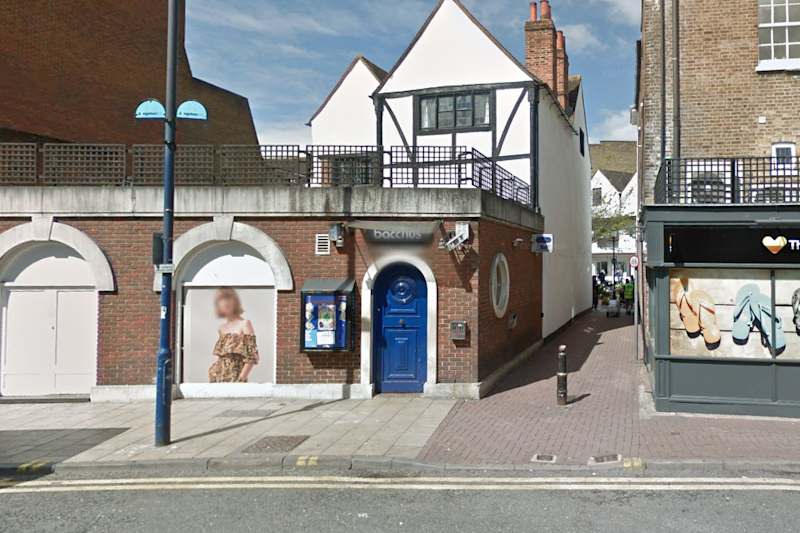 The incident happened outside Bacchus club in Kingston (Google Maps)
