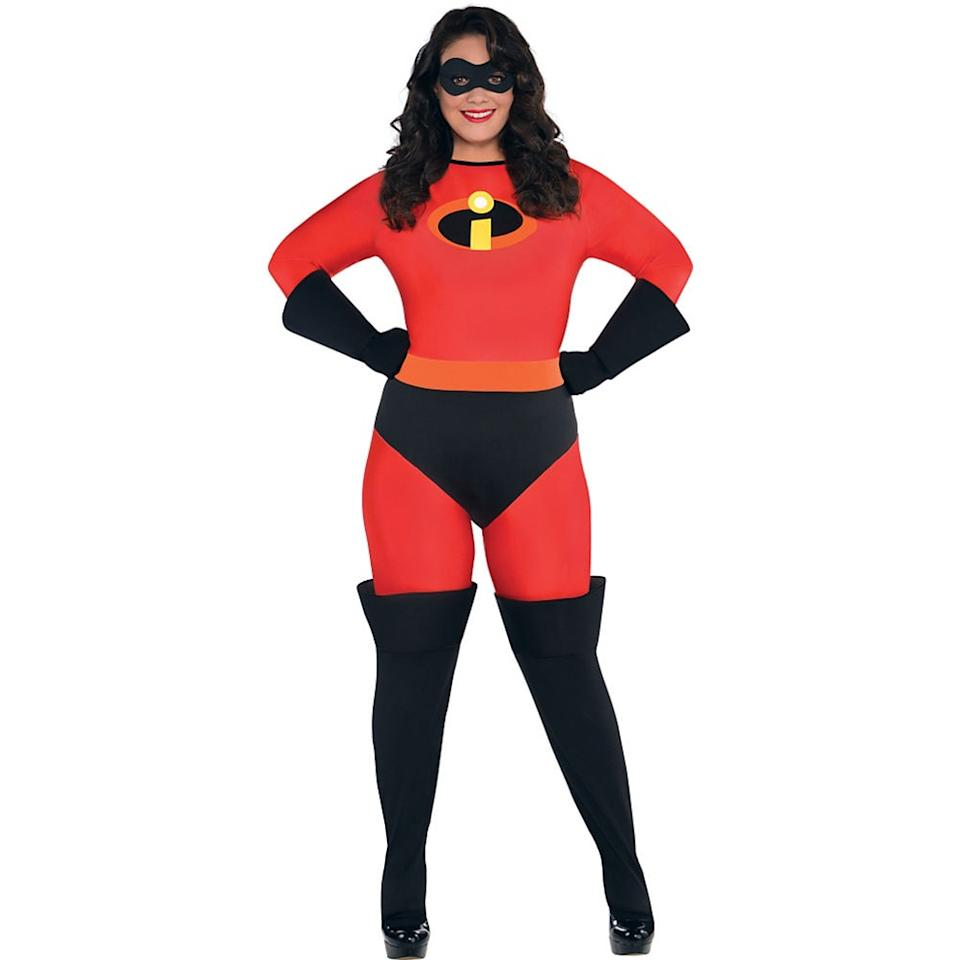 """<p><strong>See All The Incredibles Costumes</strong></p><p>partycity.com</p><p><strong>$39.99</strong></p><p><a href=""""https://go.redirectingat.com?id=74968X1596630&url=https%3A%2F%2Fwww.partycity.com%2Fwomens-mrs.-incredible-costume-plus-size---the-incredibles-P592788.html&sref=http%3A%2F%2Fwww.goodhousekeeping.com%2Fholidays%2Fhalloween-ideas%2Fg4554%2Fplus-size-costumes%2F"""" target=""""_blank"""">Shop Now</a></p><p>Let's be real: You're <em>incredible</em>. Tell everyone (subtly, of course) with this superhero costume from your kids' favorite movie. </p><p><strong>RELATED:</strong> <a href=""""https://www.goodhousekeeping.com/holidays/halloween-ideas/g4566/superhero-halloween-costumes/"""" target=""""_blank"""">24 Superhero Halloween Costumes That Kick All the Butt</a></p>"""