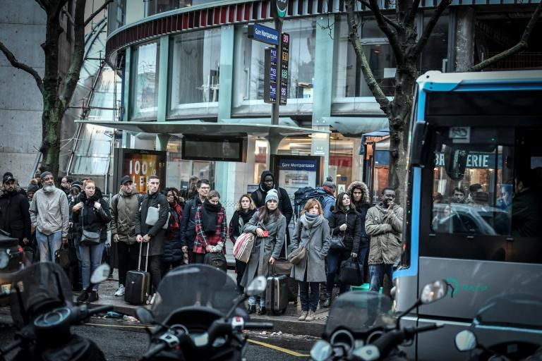 Commuters, especially in Paris, have been severely tested with trains, metros and bus services slashed due to the month-long strike