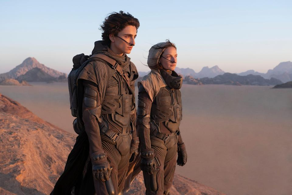 """""""Dune"""" will be released simultaneously in theaters and on HBO Max on Oct. 22. Director Denis Villeneuve said recently he's """"still not happy"""" about it."""