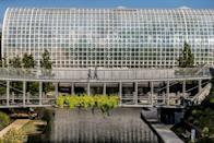 """<p>Just the architectural value of this next staycation destination is a good enough reason to visit. Renowned architect I.M. Pei was tasked with creating the <a href=""""https://oklahomacitybotanicalgardens.com"""" rel=""""nofollow noopener"""" target=""""_blank"""" data-ylk=""""slk:Myriad Botanical Gardens"""" class=""""link rapid-noclick-resp"""">Myriad Botanical Gardens</a> structure which houses 15 acres of grounds—it even has a carousel inside. Located in Oklahoma City, this beautiful piece of art offers numerous educational opportunities for both children and adults. The best part is that it has free admission and is open to the public, depending on the weather. Spend the night at the <a href=""""https://www.21cmuseumhotels.com/oklahomacity/"""" rel=""""nofollow noopener"""" target=""""_blank"""" data-ylk=""""slk:21c Museum Hotel"""" class=""""link rapid-noclick-resp"""">21c Museum Hotel</a>, a quirky property with an entire art museum attached to it, which is free and open to the public all day. Finally, have a bite at the farm-to-table <a href=""""http://kitchen324.com"""" rel=""""nofollow noopener"""" target=""""_blank"""" data-ylk=""""slk:Kitchen No. 324"""" class=""""link rapid-noclick-resp"""">Kitchen No. 324</a> restaurant, known for having the best brunch options around town. </p>"""