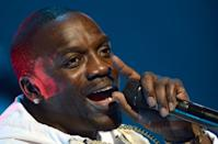 Akon said the new city would be built using renewable materials of African origin to the extent possible (AFP/Fadel SENNA)