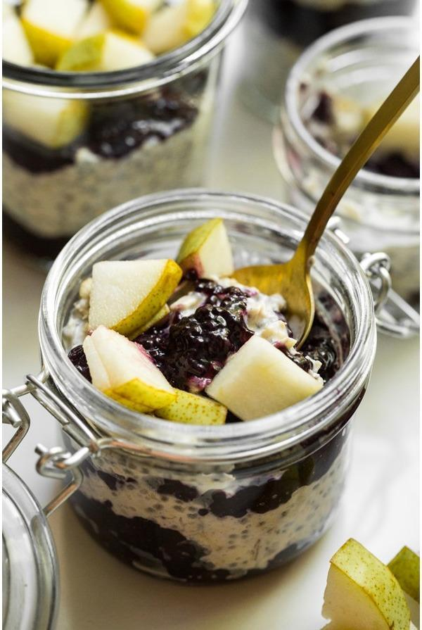 coconut cardammon overnight oats