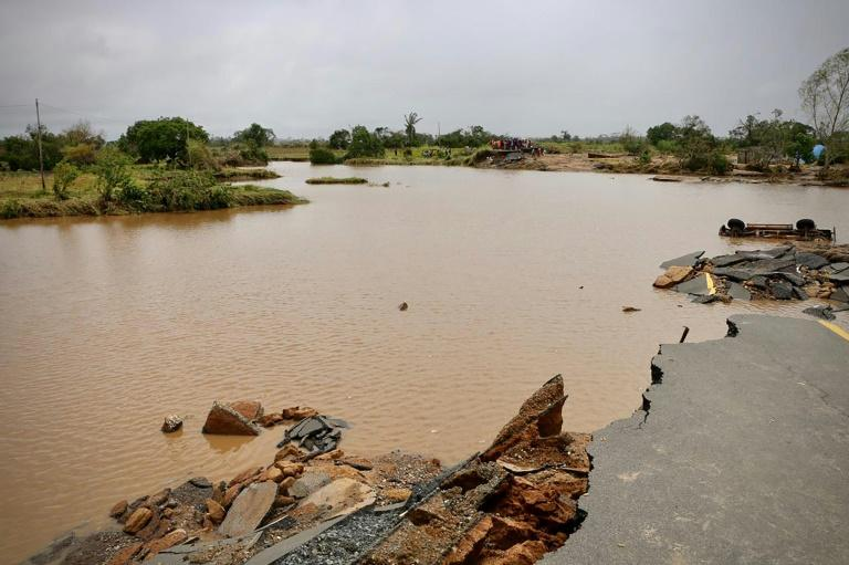 Roads linking Beira to the outside world have been been swamped or destroyed