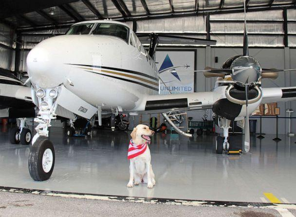 PHOTO: Bria is a fabulous co-pilot who has flown thousands of miles. (Courtesy Charles Gregg )