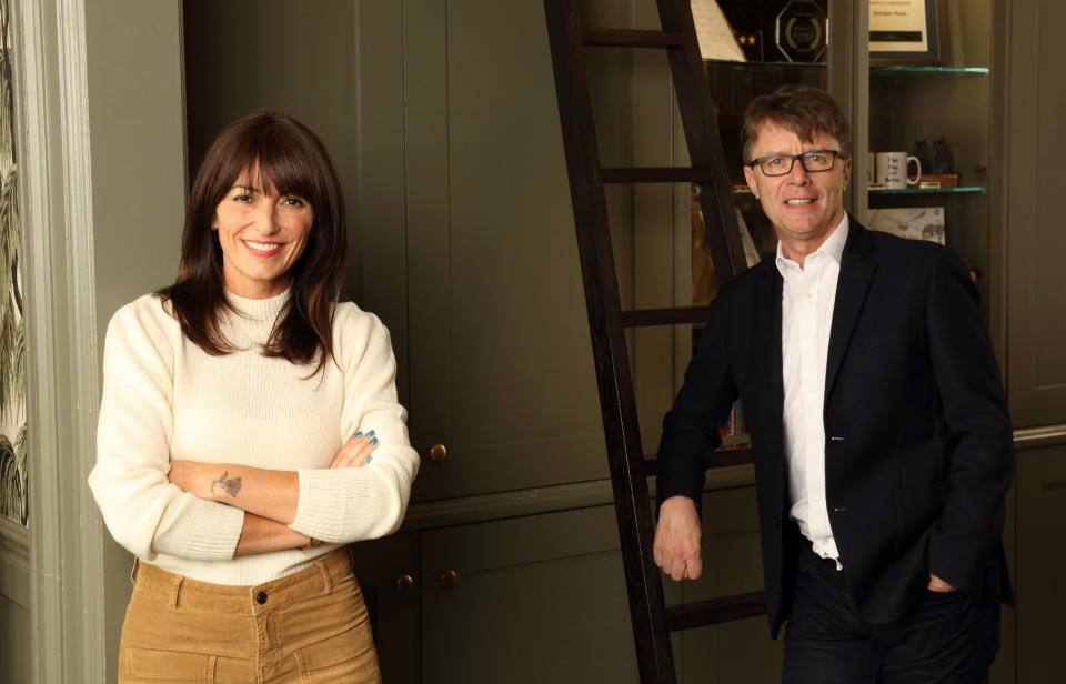 Long Lost Family presenters Davina McCall and Nicky Campbell. (ITV)