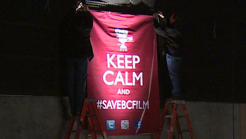 B.C. film industry struggling to survive