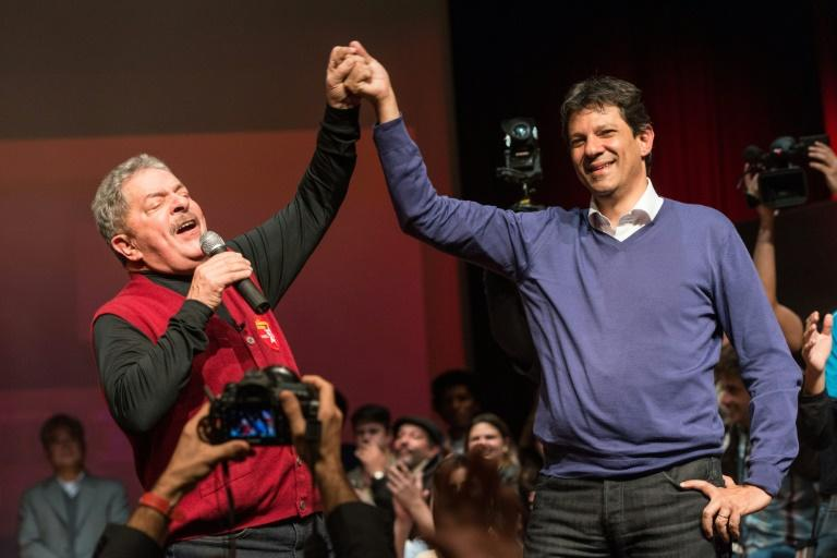 Fernando Haddad's candidacy is being held up by the almost devotional support former Brazilian president Luiz Inacio Lula da Silva commands
