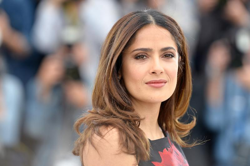 Salma Hayek has shared another cheeky snap with fans. Photo: Getty Images