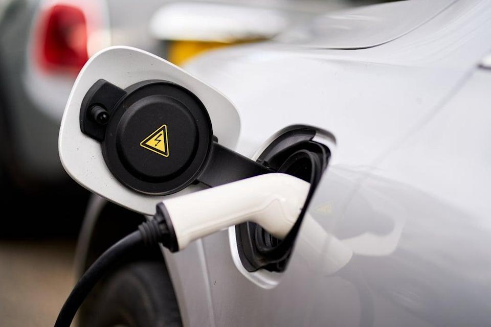 The number of battery-electric vehicles on UK roads has overtaken plug-in hybrids for the first time, according to analysis (John Walton/PA) (PA Archive)