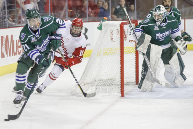 NCAA free agents rarely hit it big in the NHL. (Getty)
