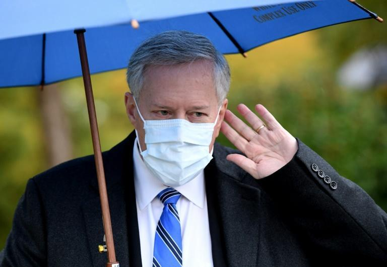 "White House Chief of Staff Mark Meadows said the White House is ""making efforts"" to contain the pandemic but like would not get control of it"
