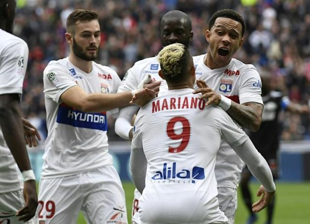 Lyon are locked in a battle with Marseille for the third and final Champions League berth in France