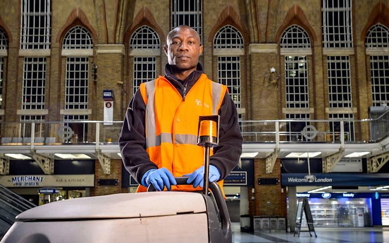 Interserve provides facilities management services across sites including train stations  - Interserve