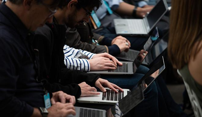 Laptops will also be exempted from the extra duties – for now. Photo: AFP