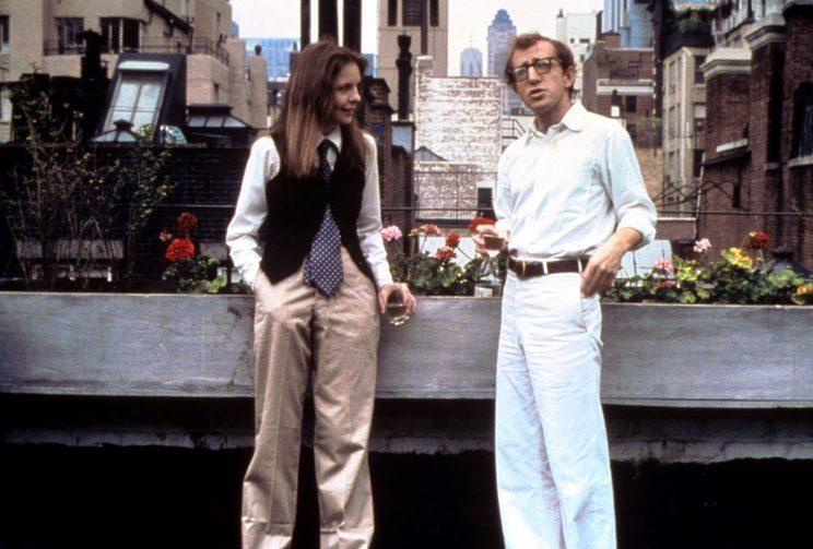Diane Keaton and Woody Allen in 'Annie Hall' (Photo: Everett Collection)