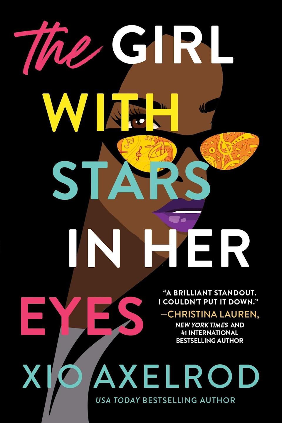 """<p><span><strong>The Girl With Stars in Her Eyes</strong></span> by Xio Axelrod is a rock-and-roll romance that's just begging you to slip it in your beach bag. Antonia """"Toni"""" Bennette is a guitarist on the verge of her big break. All she needs to do is join the up-and-coming band The Lillys, and all of her career dreams will come true. Unfortunately for Toni, The Lillys' new manager also happens to be her small-town ex who left her without looking back. </p> <p><em>Out May 4</em></p>"""