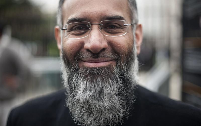 Anjem Choudary, 51, is due to be freed within weeks after serving half of a five and a half year prison sentence for encouraging Muslims to join Islamic State - AFP