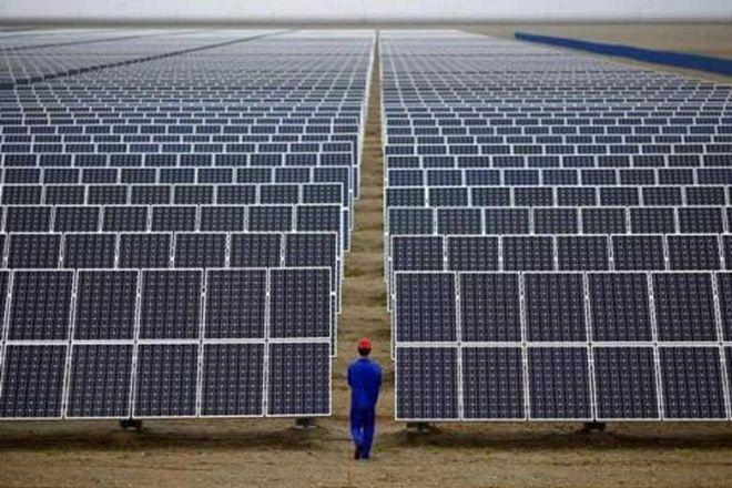 India clean energy target, clean energy leader India, Pavagada solar park, Piyush Goyal, renewable energy generation in India, world's largest solar park