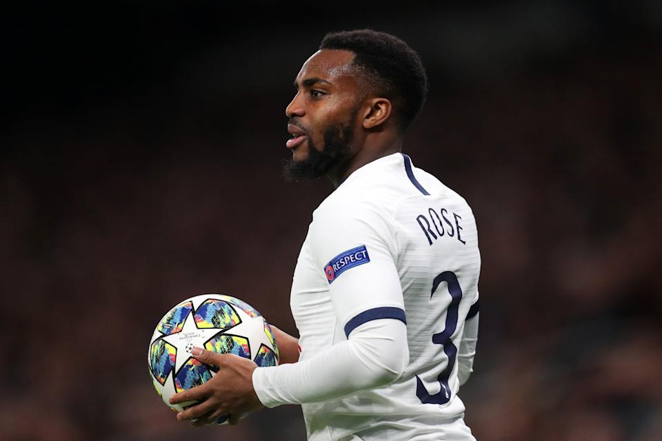 <p>Danny Rose left Tottenham last month after 14 years</p> (Getty Images)
