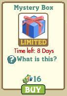 farmville mystery box blue and pink