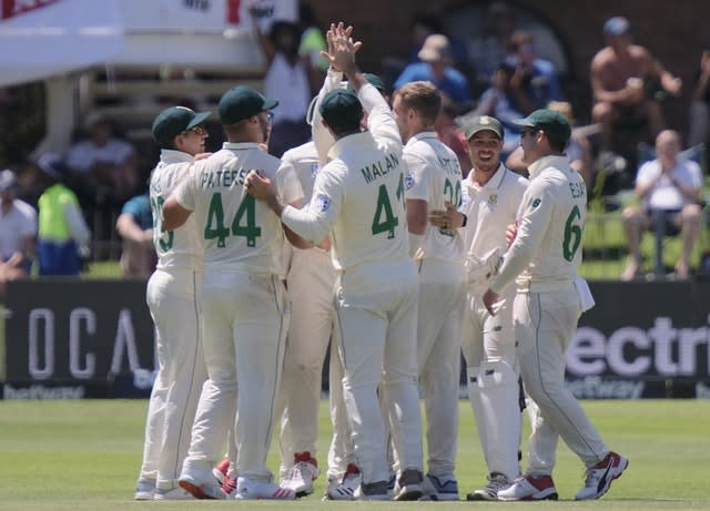 South Africa had reduced England to 148 for four at Port Elizabeth