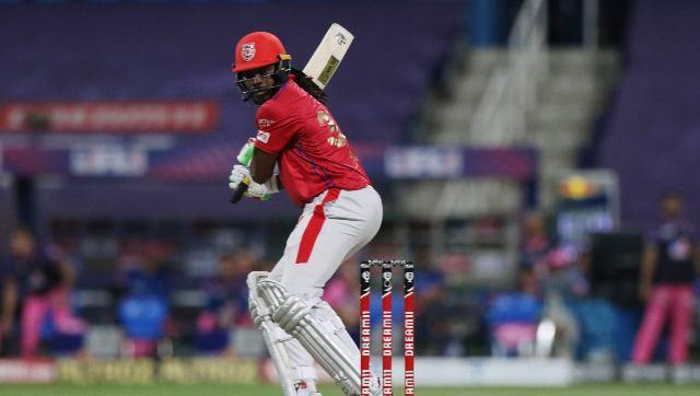 Chris Gayle was bowled by Archer for 99 in the penultimate ball of the innings, and missed out on what would have been his seventh IPL century. This led Punjab to 185-4 from 20 overs. Sportzpics