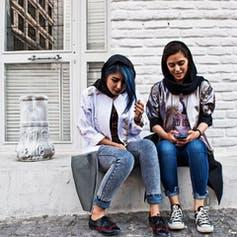 """<span class=""""caption"""">Streetstyle in Iran.</span> <span class=""""attribution""""><a class=""""link rapid-noclick-resp"""" href=""""https://deyoung.famsf.org/exhibitions/contemporary-muslim-fashions"""" rel=""""nofollow noopener"""" target=""""_blank"""" data-ylk=""""slk:Contemporary Muslim Fashions 22 September 2018 - 6 January 2019 de Young Museum"""">Contemporary Muslim Fashions 22 September 2018 - 6 January 2019 de Young Museum</a></span>"""