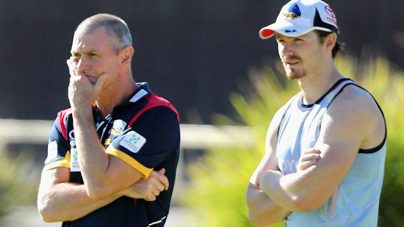 Phil Walsh and Patrick Dangerfield, pictured here in 2015.