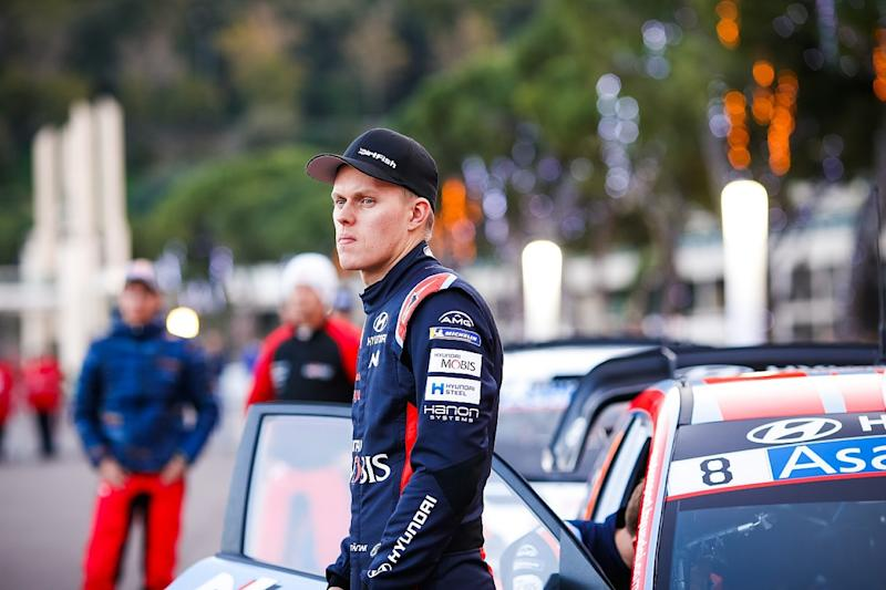 Tanak laments Monte crash for lack of seat time