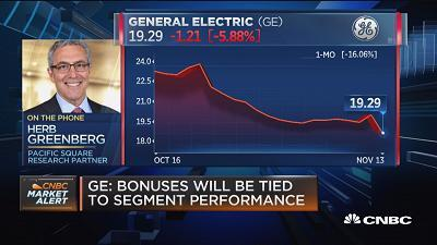Companies like GE that always tout their dividend is a 'red