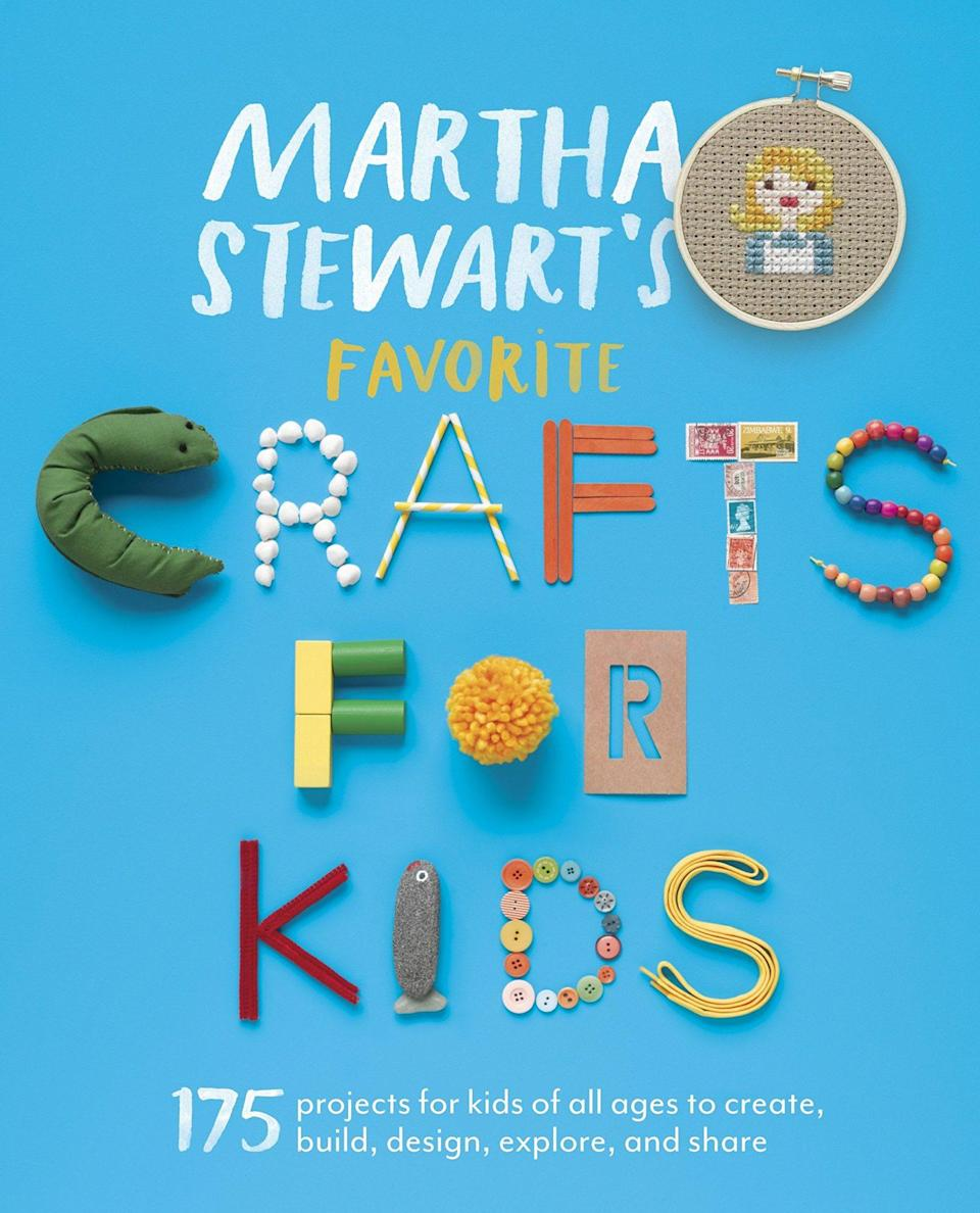 "<p>Lesson planning takes creativity. That's why we suggest learning from the best teacher of all: Martha. Her book outlines craft projects that children, aged three to twelve, can make in the classroom while learning about the world around them.</p> <p><em><strong>Shop Now:</strong> Martha Stewart's Favorite Crafts for Kids, $19.24, <a href=""https://www.amazon.com/Martha-Stewarts-Favorite-Crafts-Kids/dp/0307954749/ref=as_li_ss_tl?ie=UTF8&linkCode=ll1&tag=mslggteacherchristmasgiftsachurchilloct20-20&linkId=3d8e0ce290fcfe6af3496dd18c3f7789&language=en_US"" rel=""nofollow noopener"" target=""_blank"" data-ylk=""slk:amazon.com"" class=""link rapid-noclick-resp"">amazon.com</a>.</em></p>"