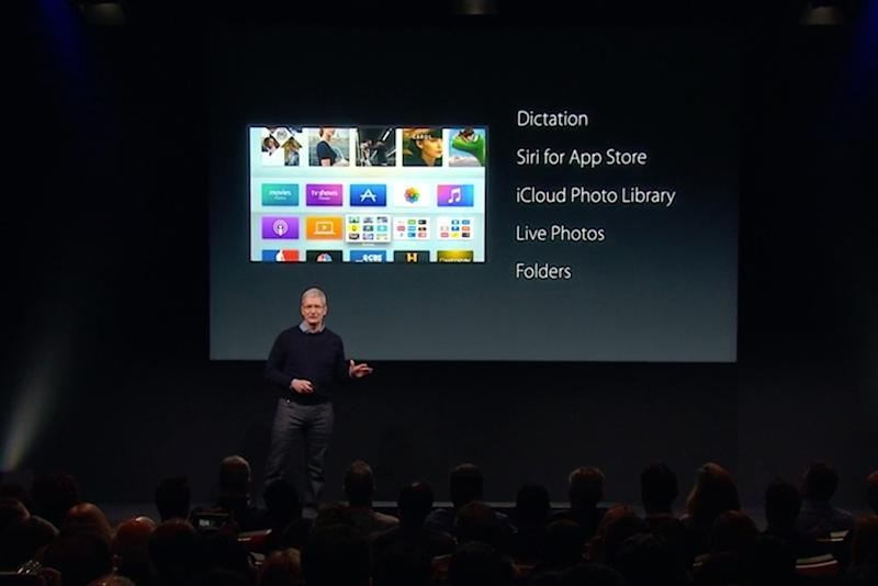 Apple makes login a breeze for Apple TV owners with new dictation feature