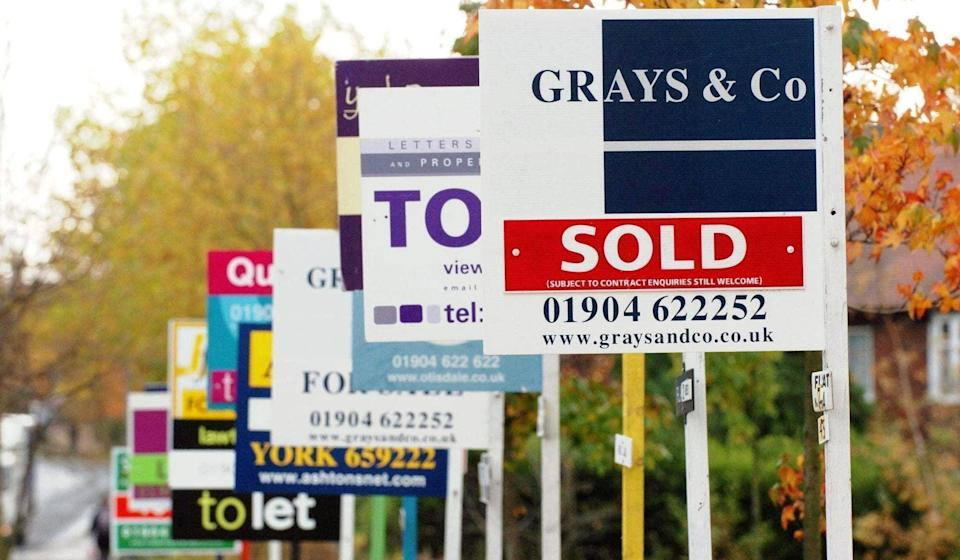 The housing market has been boosted by a stamp duty holiday (PA)