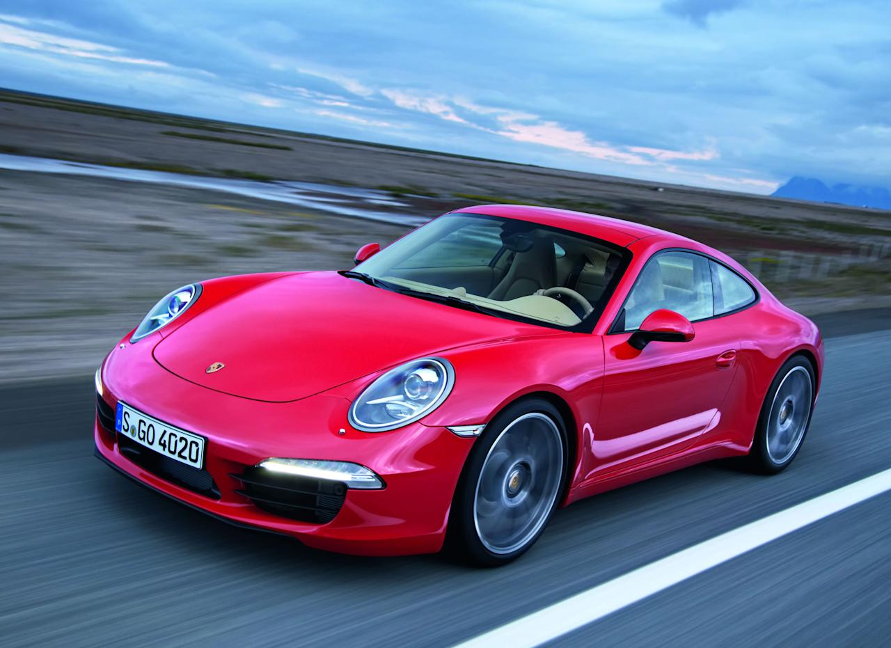 The newest 911 Carrera (991 series)