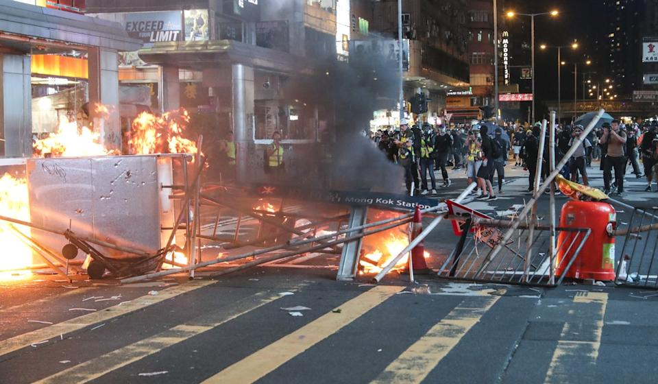 Months-long anti-government protests have severely hit Hong Kong's tourism industry. Photo: Edmond So